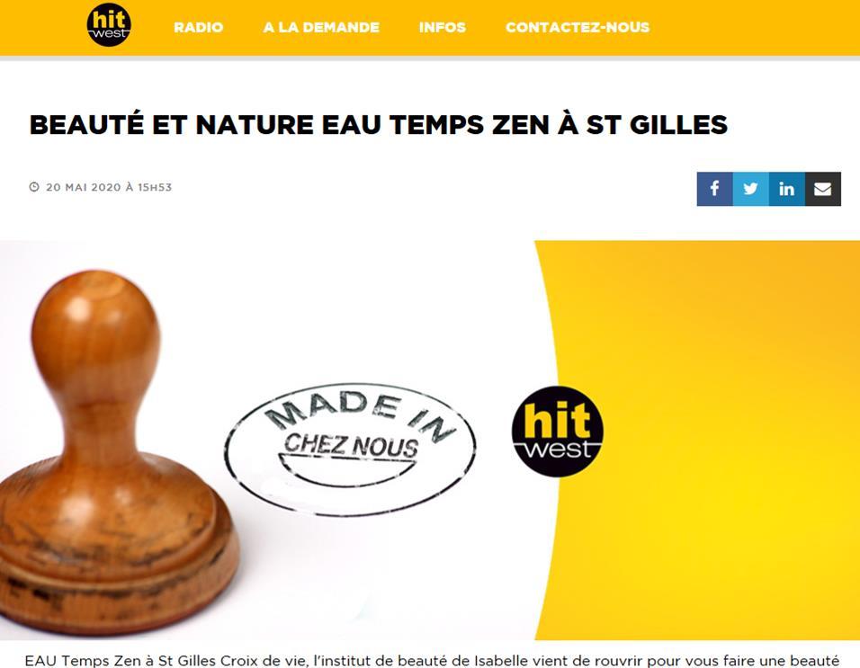 Made in Chez Nous - EAU TEMPS ZEN